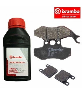 BREMBO BRAKING SET DERBI SENDA DRD 50 (05-)