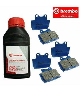 BREMBO BRAKING SET YAMAHA RD350 (85-)