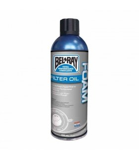 BEL-RAY FOAM FILTER OIL SPRAY . 400 ML