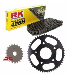 CHAIN AND SPROCKET KIT DERBI GPR 125 2T RK 428M