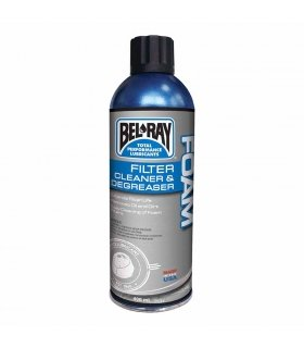 BEL-RAY CLEANER FOAM FILTER SPRAY . 400 ML