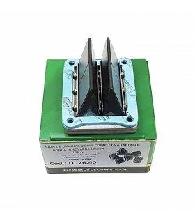 Caja laminas Doble Prisma Carbono Cagiva / Honda / Husqvarna