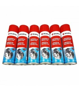 PACK 6 UND. LIMPIADOR FRENOS WURTH SPRAY 500ML