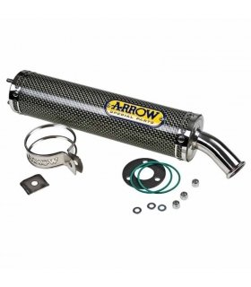 ARROW END CAN SILENCER KEVLAR APRILIA RS125