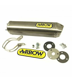 ARROW END CAN SILENCER MINI THUNDER TITANIUM APRILIA RS125