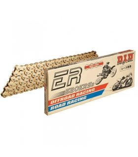 DID 520ERS3 114 Link Race Chain Gold Non O Ring