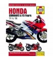 MANUAL DE REPARACIÓN HONDA CBR600F2 & F3 FOURS 91-98 INGLES