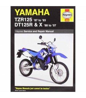 MANUAL DE REPARACIÓN YAMAHA TZR125 (87-93) & DT125R/X INGLES