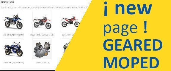 New page GEARED MOPED