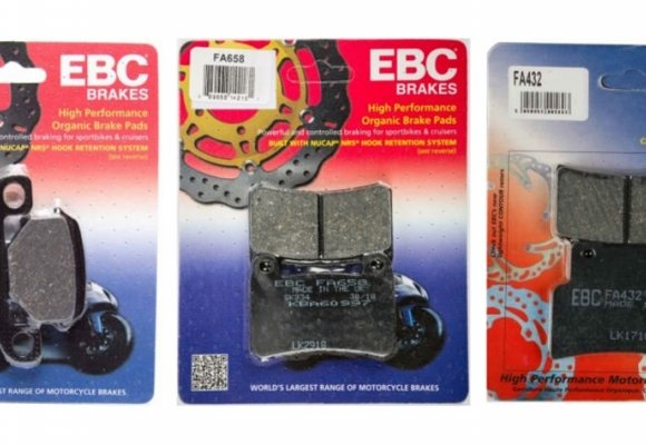 Catálogo de pastillas de freno para moto EBC al mejor precio