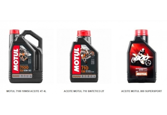 Lubricante y Aceite Motul para 2T al mejor precio 510, 710 y 800
