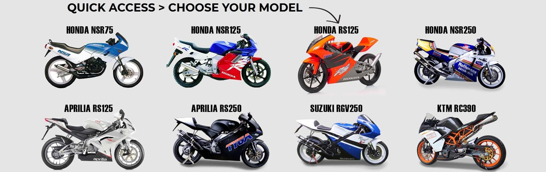 SELECT YOUR MODEL